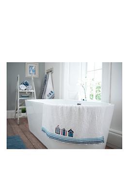 deyongs-beach-hut-embroidered-jacquard-100-cotton-bath-towel