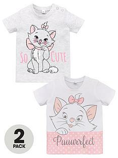 disney-the-aristocats-baby-girls-2-pack-t-shirts-multi