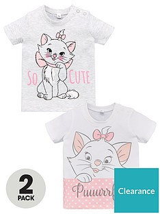 disney-the-aristocats-baby-girls-2-pack-t-shirts-multi