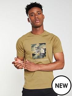 the-north-face-short-sleeve-raglan-redbox-t-shirt-khaki