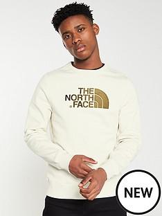 the-north-face-drew-peak-crew-neck-sweat-white