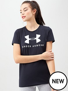 under-armour-graphic-sportstyle-classic-tee-blacknbsp