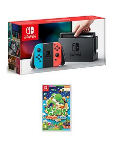 nintendo-switch-nintendo-switch-neon-console-with-yoshis-crafted-world