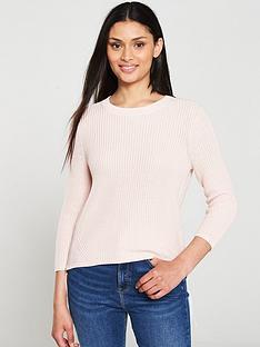 hugo-sitinara-double-zip-jumper-pink