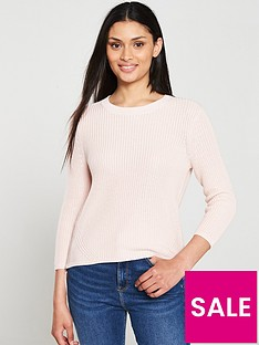 hugo-sitinara-double-zip-jumper-pink