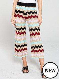 river-island-river-island-chevron-print-knitted-trousers
