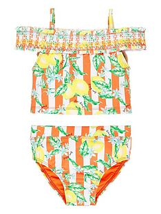 river-island-mini-mini-girls-lemon-bardot-tankini-set-orange