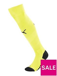 puma-youth-manchester-city-1819-third-socks-yellow