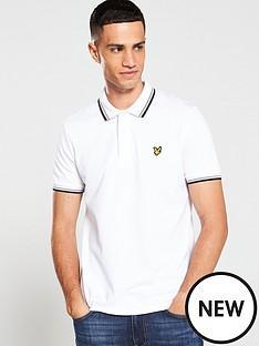 lyle-scott-short-sleeved-polo-shirt-white