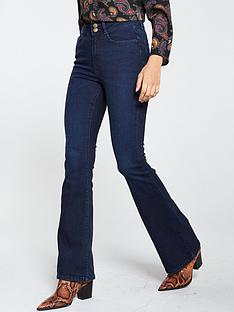 v-by-very-shaping-contour-kickflare-jean-dark-wash