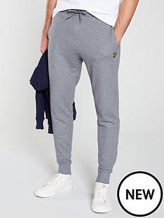 lyle-scott-skinny-sweat-pants-grey