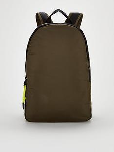 calvin-klein-round-backpack-khaki