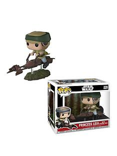 pop-funko-pop-ride-deluxe-star-wars-ndash-princess-leia-with-speeder-bike-vinyl-figure