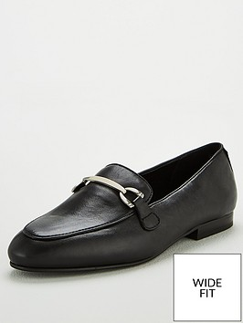 v-by-very-wide-fit-magpie-leather-snaffle-trim-loafers-black