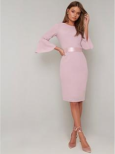 chi-chi-london-yohana-dress-pink