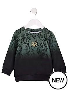 river-island-mini-mini-boys-snake-fade-sweatshirt-khaki