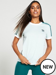 adidas-originals-3-stripe-tee-greennbsp