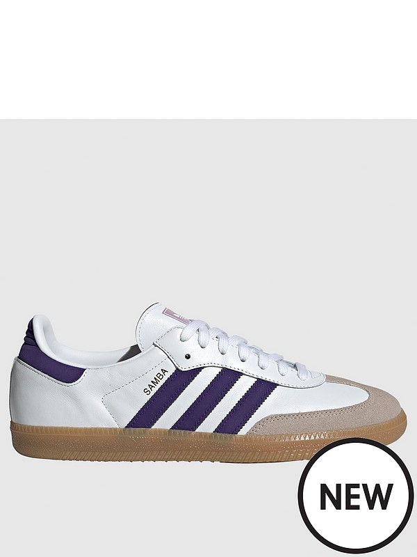 the latest reasonable price sleek Samba OG - White