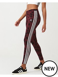 adidas-originals-aop-tights-maroonnbsp