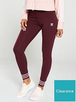 adidas-originals-tights-maroonnbsp