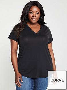 v-by-very-curve-cupro-v-neck-t-shirt-black