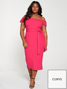 v-by-very-curve-bardot-pencil-dress-pinknbsp