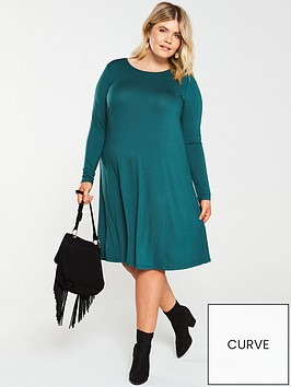 v-by-very-curve-swing-dress