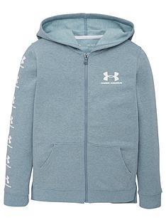 under-armour-kids-rival-full-zip-hoodie-grey