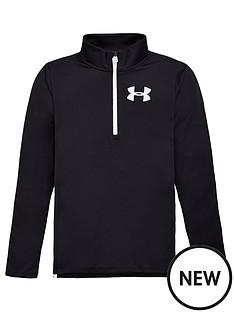 under-armour-tech-12-zip-jacket-black