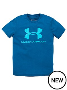 under-armour-sportstyle-logo-t-shirt-teal