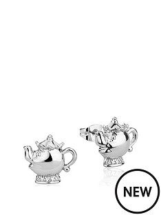 disney-disney-beauty-and-the-beast-14kt-white-gold-plated-mrs-potts-stud-earrings