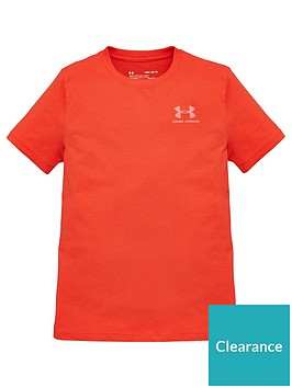 under-armour-cotton-short-sleeve-t-shirt-red
