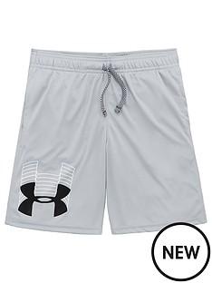 under-armour-childrens-prototype-logo-shorts-greyblack