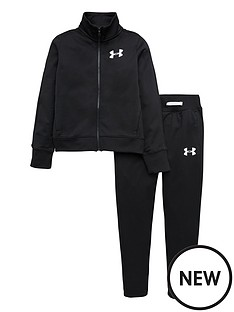 under-armour-childrens-em-knit-track-suit-blackwhite
