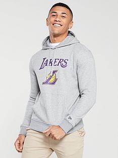 new-era-nba-los-angeles-lakers-overhead-hoodie-grey