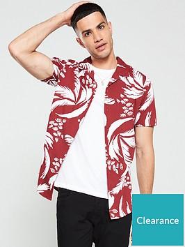 jack-jones-premium-floral-resort-shirt-redwhite