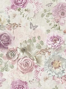 arthouse-vintage-flower-wallpaper