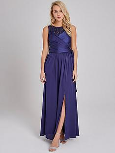 little-mistress-pearl-trim-wrap-satin-maxi-dress-navynbsp
