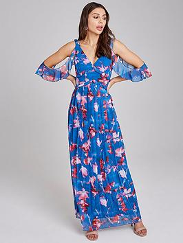 little-mistress-floral-printed-chiffon-maxi-dress-multi
