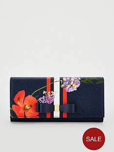 ted-baker-jeano-hedgerow-leather-matinee-purse-dark-blue