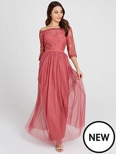 little-mistress-little-mistress-mesh-top-bardot-maxi-dress
