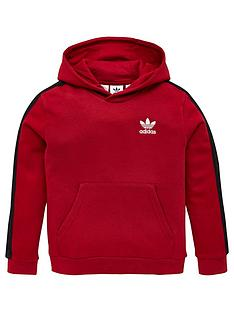 adidas-originals-childrens-tape-hoodie-burgundy
