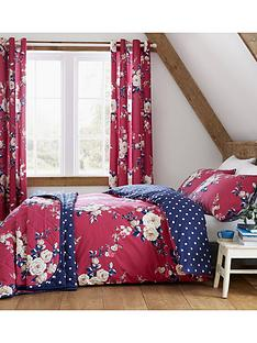 catherine-lansfield-nbspcanterbury-bedspread-throw-raspberry