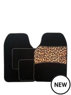 streetwize-accessories-4-piece-leopard-print-car-mat-set