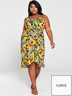 oasis-bali-tropical-wrap-midi-dress-yellowmulti