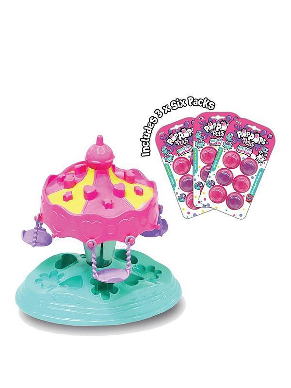 Pop Pops Pets Carousel Playset