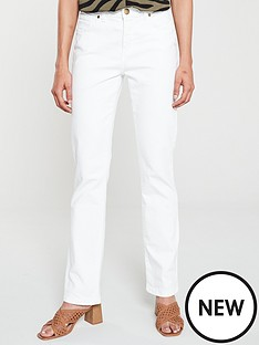 wallis-harper-straight-leg-jeans-white