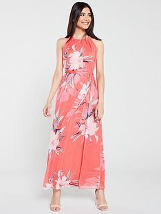 wallis-holiday-floral-maxi-dress-pink