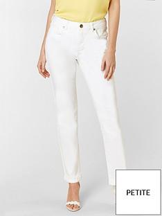 wallis-petite-harper-straight-leg-jean-white