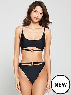 south-beach-black-shimmer-underbust-strappy-cami-bikini-black